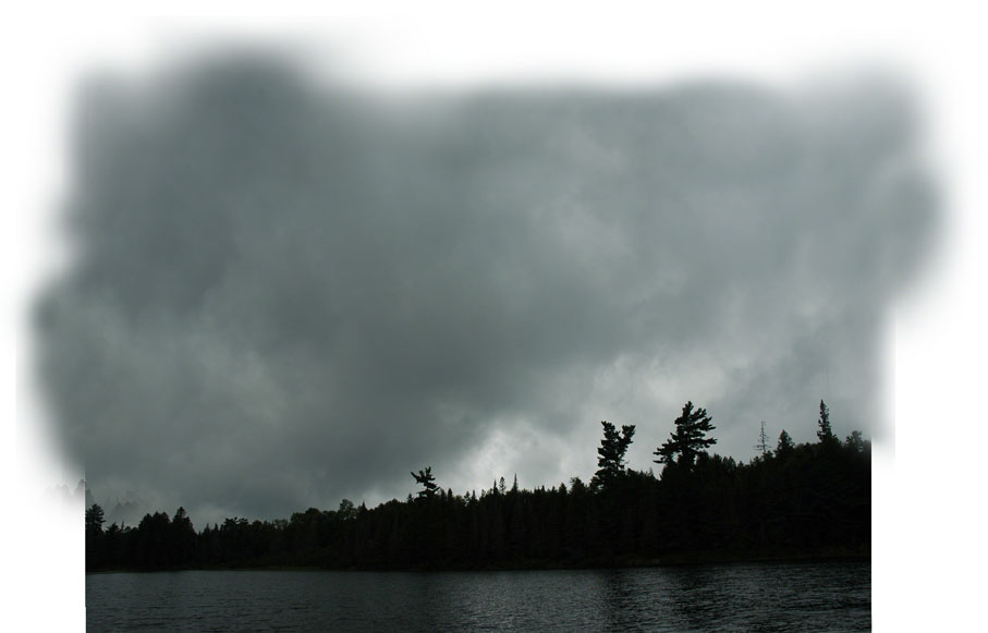 Thunder Clouds Fill The Sky ~ Photo by Patrice