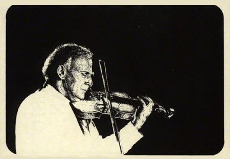 Yehudi Menuhin Illustration by Patrice