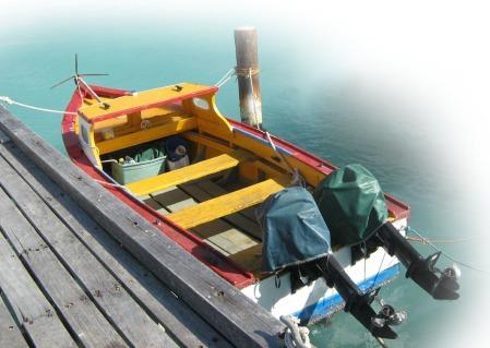 Boat in Aruba ~ Photo by Patrice
