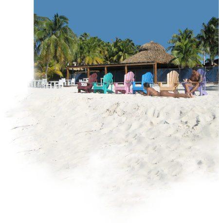Aruba beach chairs ~ Photo by Patrice