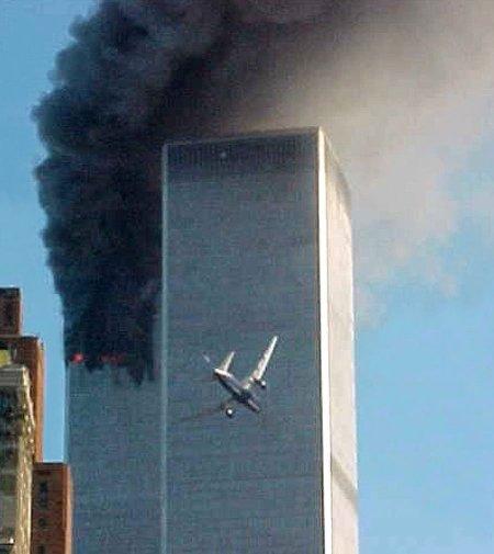 World Trade Centre Destruction 2001 ~ photo courtesy of Business Insider