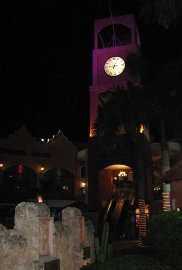Aruba clock tower ~ photo by Patrice
