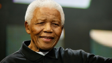 Nelson Mandela ~ photo courtesy of CBC News Canada