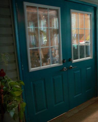 Warm Door ~ Photo by Patrice