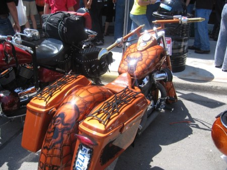 Friday the 13th in Port Dover ~ photo courtesy of http://www.pd13.com