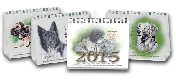 Patrice's 2015 Painting and Affirmation Desktop Calendar