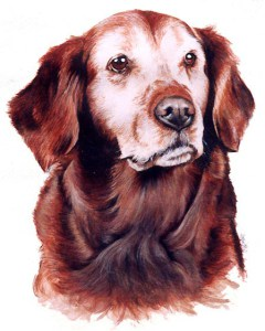 Misty ~ Watercolour Painting by Patrice