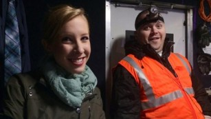 Alison Parker and Adam Ward - photo courtesy of CNN News