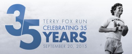 Celebrating 35 Years of the Terry Fox Run ~ Photo courtesy of TerryFox.org