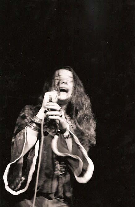 Janis Joplin ~ Photo by Janis Joplin. © Fantality Corp