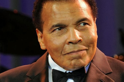 Muhammed Ali ~ Photo courtesy of https://theblackconversation.wordpress.com