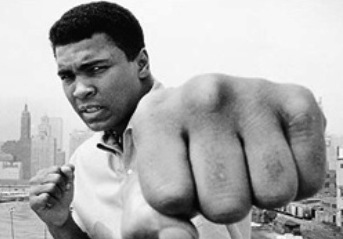Muhammed Ali ~ Photo courtesy of https://www.villages-news.com