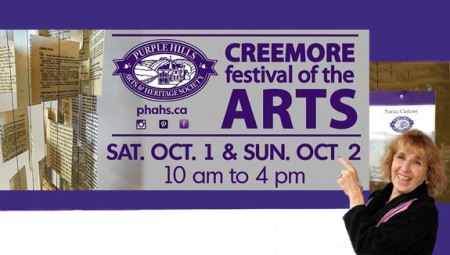Purple Hills Art & Heritage Society  ~ Artists on location in Creemore