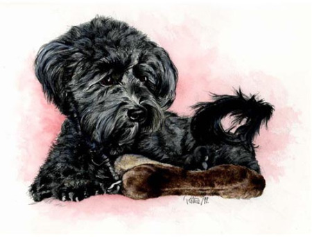 Lucy ~ Watercolour by Patrice