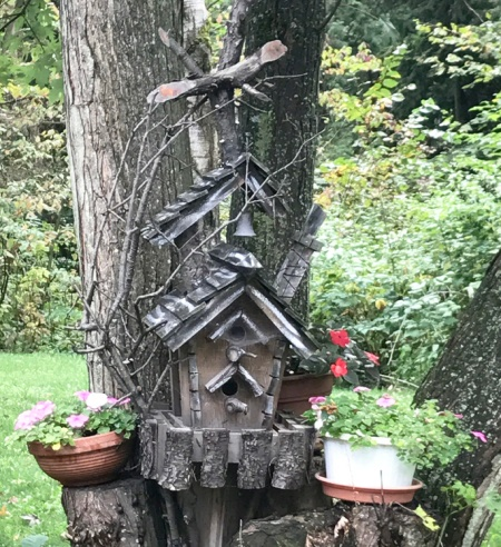 Elaborate Birdhouse ~ Photo by Patrice