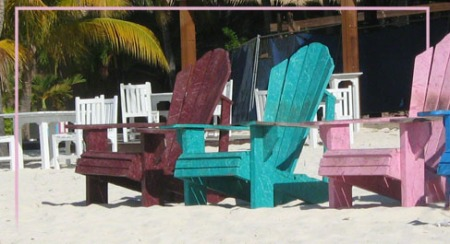Chairs in Aruba ~ Photo by Patrice