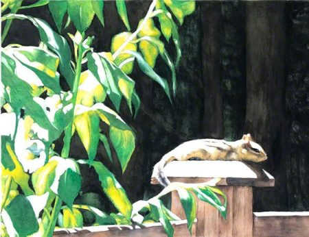 Lazy Summer Days ~ Watercolour Painting by Patrice