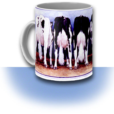 Cow Butt Coffee Mug ~ Art Product by Patrice
