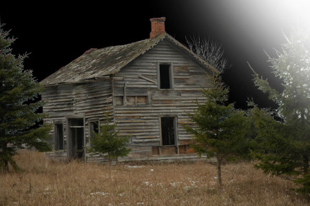 Old House ~ Photo by Patrice
